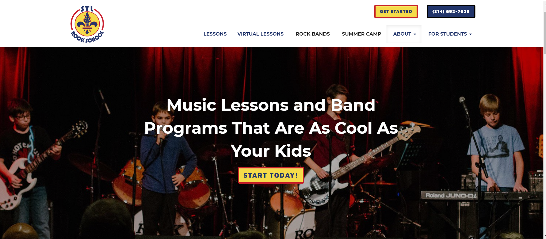 get more music students from your website 5