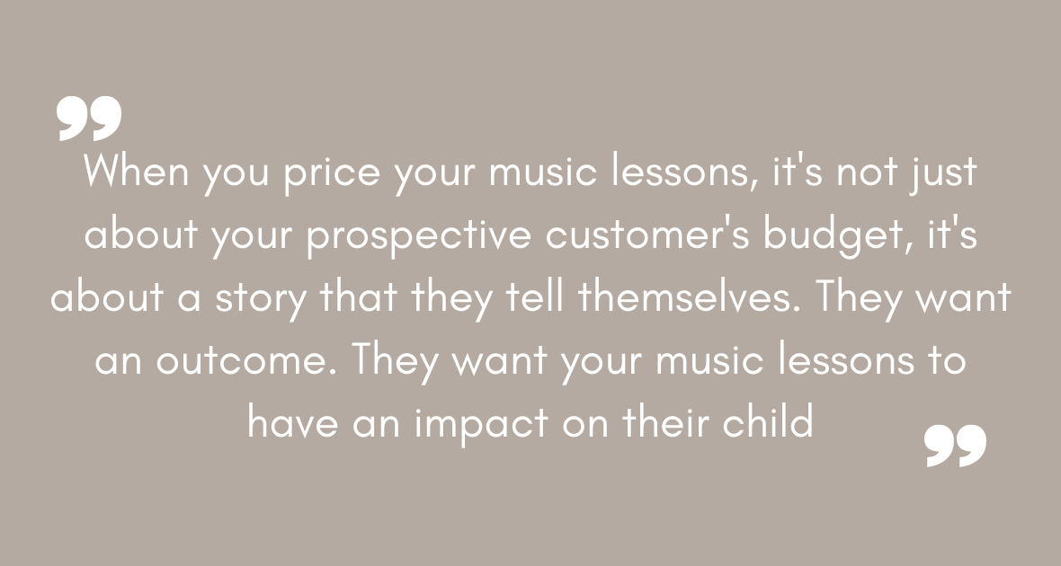higher priced music lessons